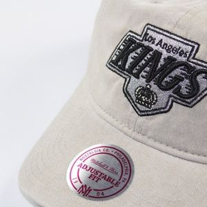 buy online fb38f 6266d Mitchell   Ness Accessories - Mitchell   Ness Kings Hockey Cotton Dad Hat  Khaki